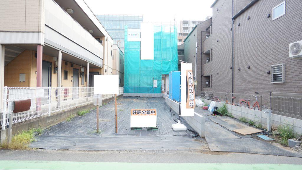 ★9/5写真追加★ 和光市新倉1丁目 <建築条件付き売地>